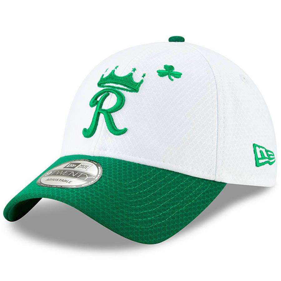 best service 82778 e811c Men s Kansas City Royals New Era White Kelly Green 2019 St. Patrick s Day  9TWENTY Adjustable Hat, Your Price   29.99