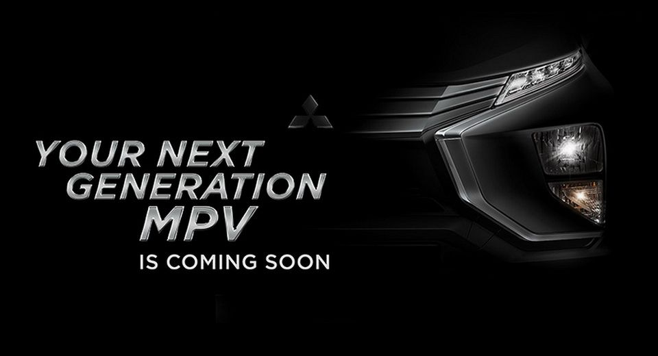 Mitsubishi Teases Production Version Of Xm Mpv Concept Carscoops Mitsubishi Mitsubishi Motors Mini Van
