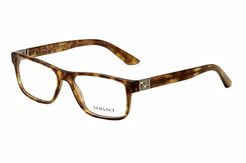 95afc6018eecf MEN VERSACE EYEGLASSES VE3211 5143 STRIPED HAVANAGUNMETAL 55145      Continue to the product at the image link.Note It is affiliate link to  Amazon.