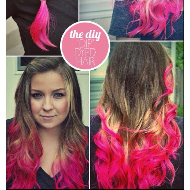 Splat Hair Dye Diy Hair Dye Dip Dye Hair Hair Styles