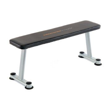 Amazon Com Crescendo Fitness Flat Bench Sports Outdoors Weight Benches Benches For Sale Diy Home Gym