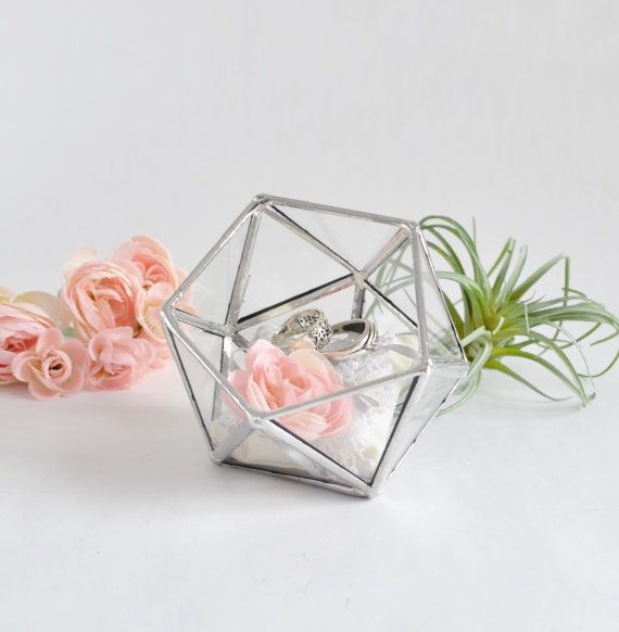 Glass box wedding gift wedding ring box glass terrarium clear glass glass box wedding gift wedding ring box glass terrarium clear glass planter geometric box wedding ring box weddings and wedding negle Image collections