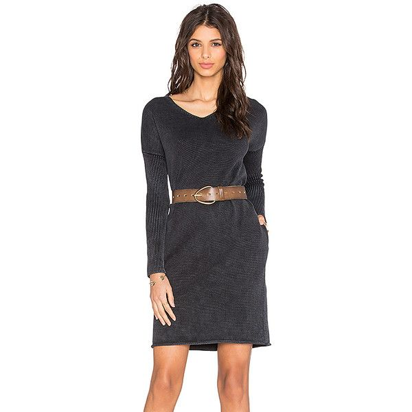 DemyLee Dania Sweater Dress Dresses (4 075 UAH) ❤ liked on Polyvore featuring dresses, cotton dress, demylee, cotton sweater dress and sweater dress