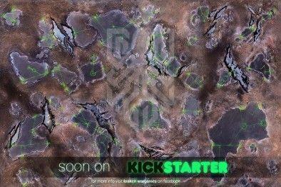 Kraken Wargames Launching Soon With Range Of Gaming Mats Alien Worlds Wargaming Kraken