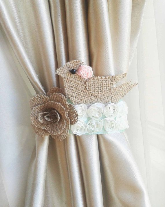 Sale1 Pcsnursery Curtainsbaby Room Curtain Tie By Lamoreboutique