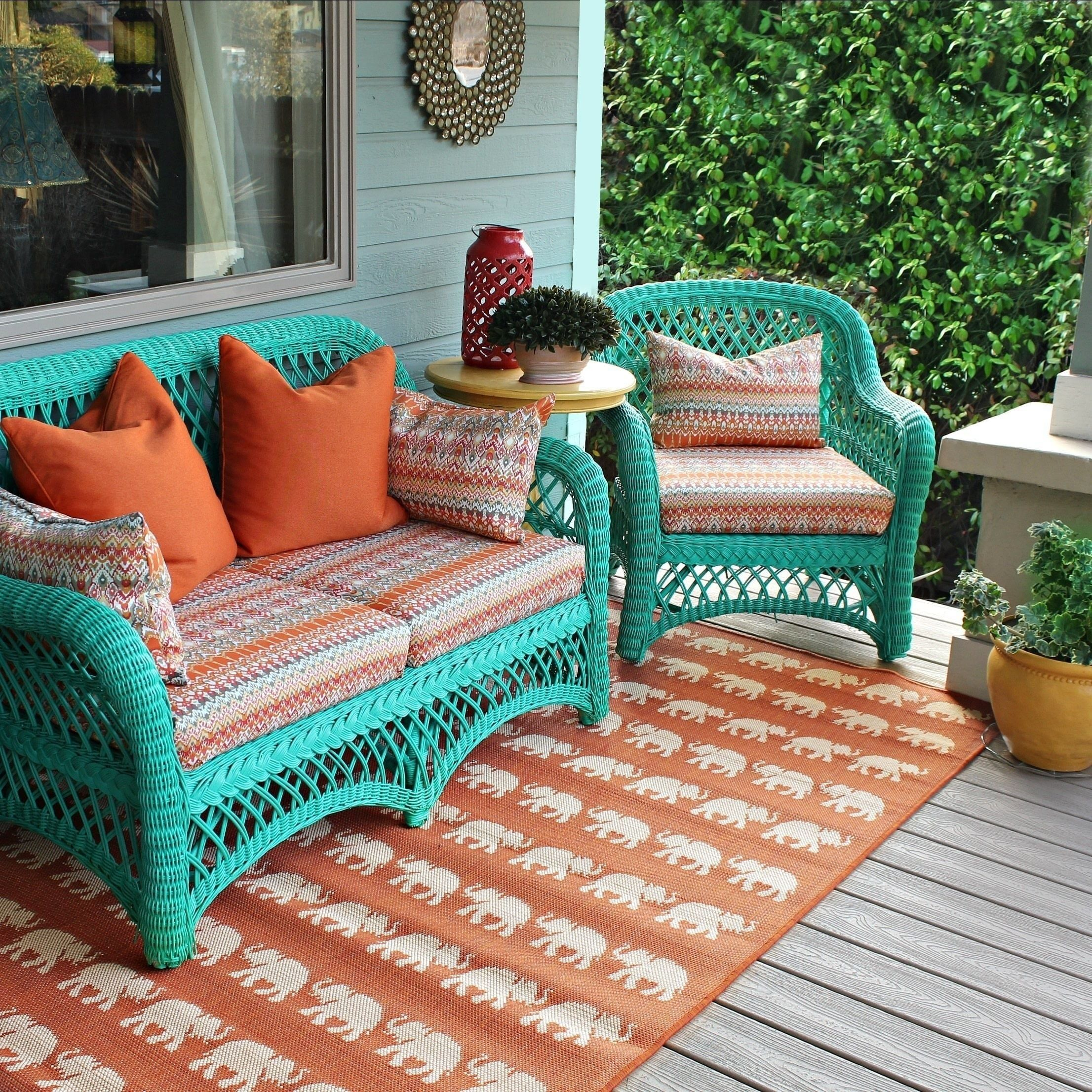 No Sew Patio Cushions And Pillows