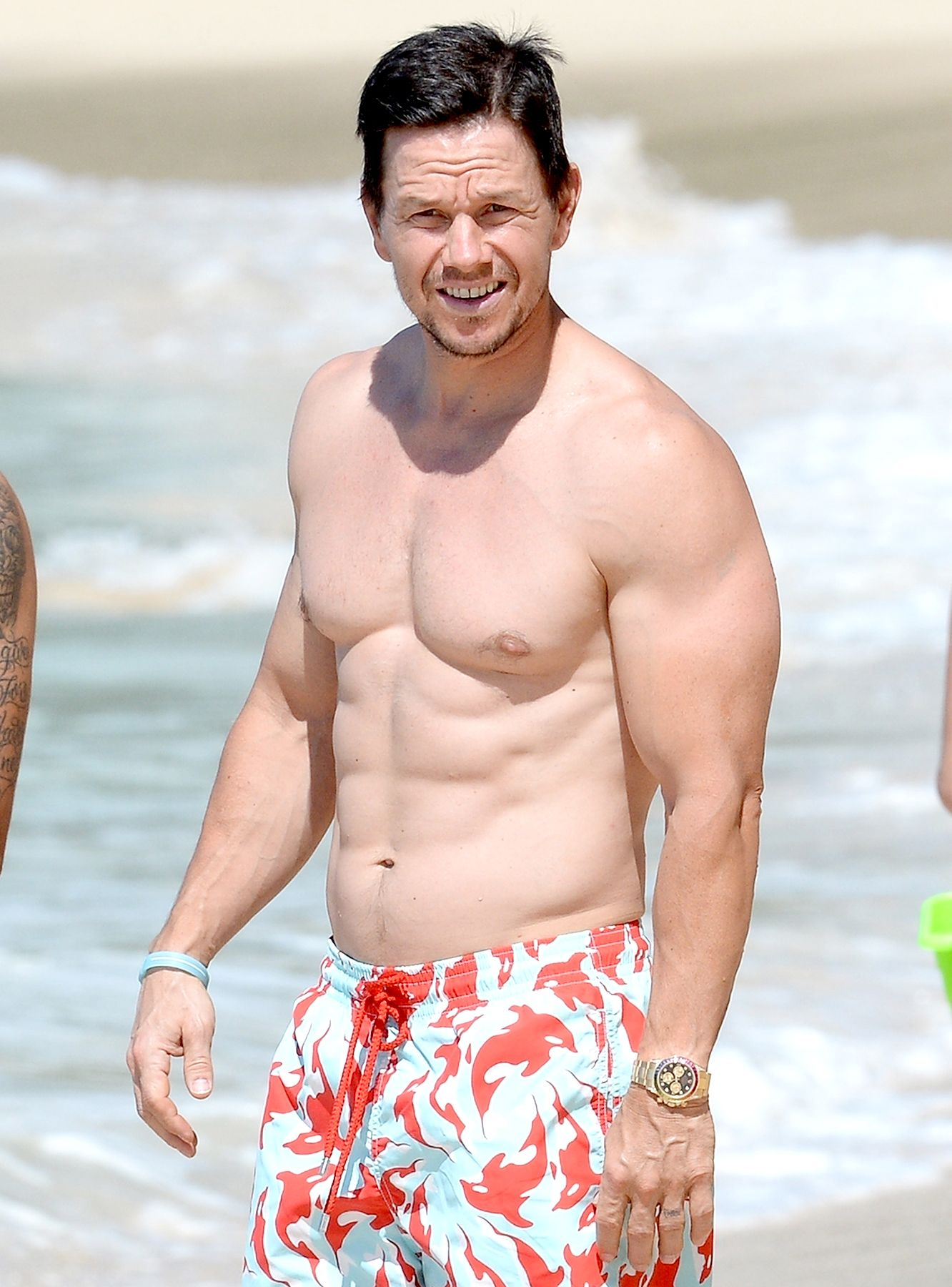 53974ebc Mark Wahlberg has been around for a long time, and he is known for being  one of Hollywood's most fit celebrity men. Click to more fit celebrity men!