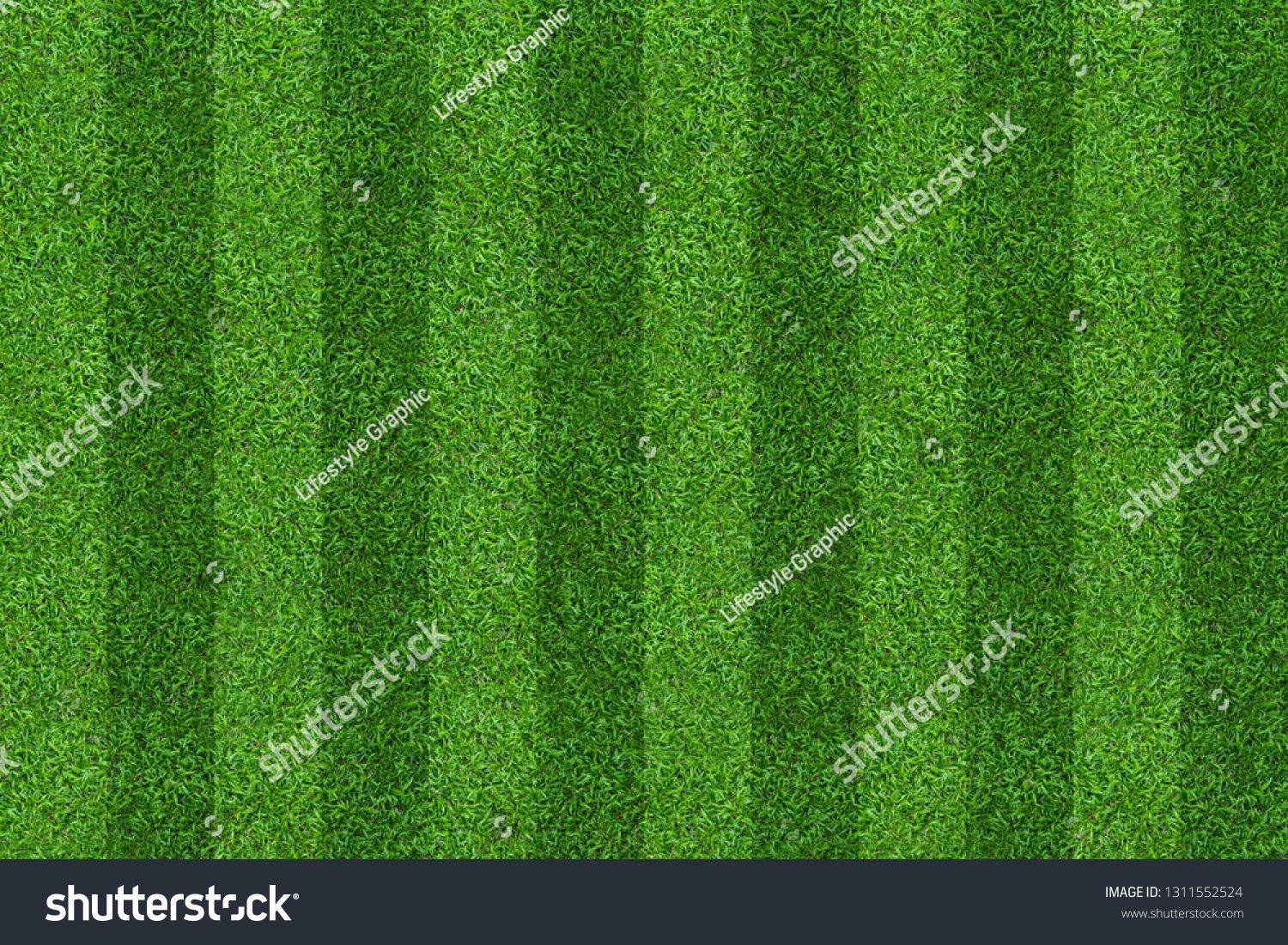 Green grass field background for soccer and football