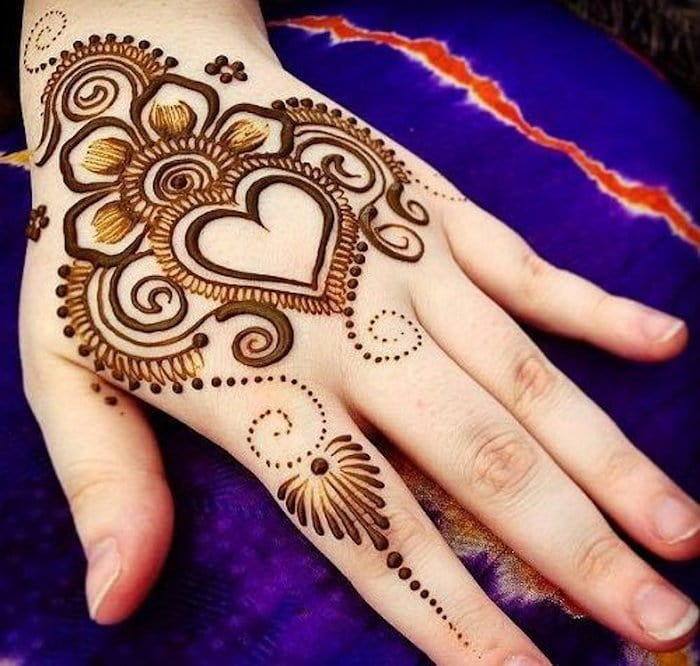 Top 111 Latest Simple Arabic Mehndi Designs For Hands Legs Henna Heart Henna Designs Hand Henna