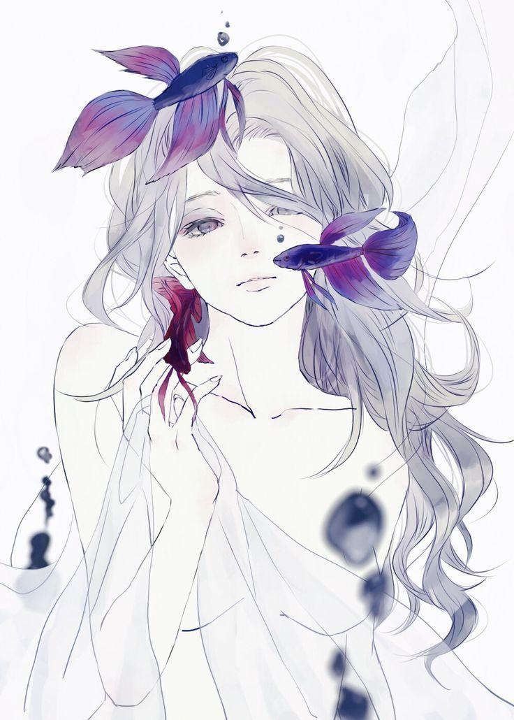 水葬尼姑酱采集到 小清新(4095图)_花瓣 Dessins d'anime, Art manga