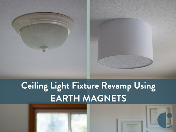 Embracing Simplicity Diy Ceiling Light Fixture Revamp