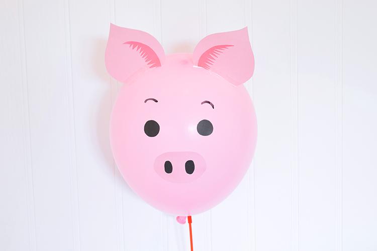 diy animal balloons party pieces inspiration