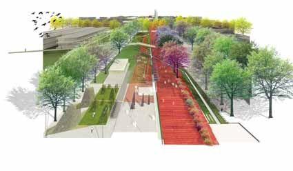 Concurso Nacional De Ideas Parque Lineal Del Sur Resultados Sociedad Central De Arquitectos Parques Lineales Parques Arquitectos