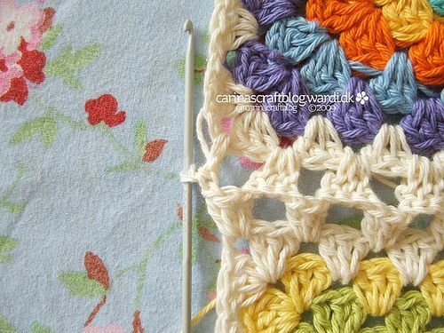 Crochet tutorial: joining granny squares 10 by Carina » Polka ...