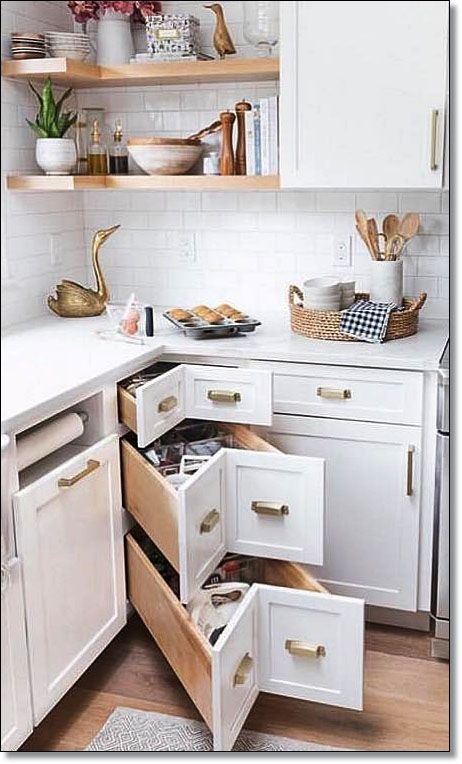 Photo of 35 Small Kitchen Designs for Kitchen Remodel. Cabin recommendation for small kitchens.