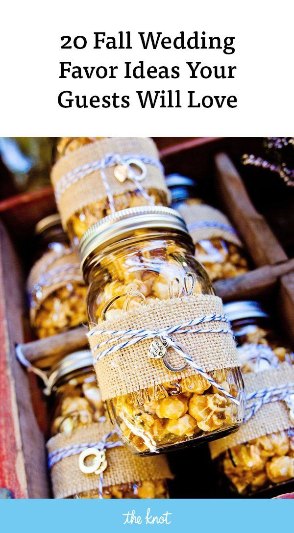 35 Delightful Fall Wedding Favors Guests Will Really Use #fallweddingideas