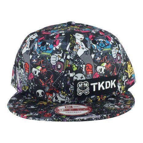 b0af336d914f3 New Era X Tokidoki Tkdk Mad Style All Printed Snapback Hat Cap