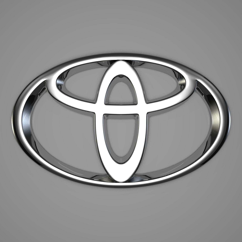 Toyota Logo 3d Model Con Imagenes Vehiculos Automoviles