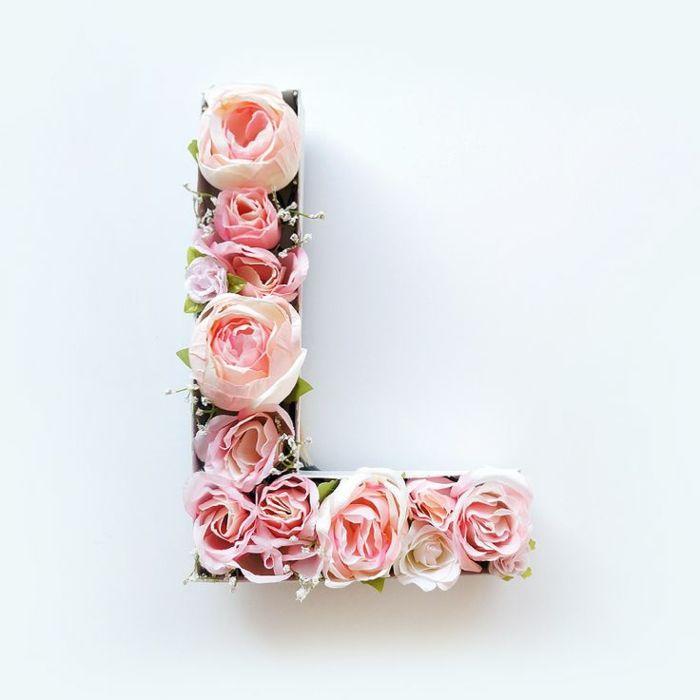 Frühlingsdeko Basteln frühlingsdeko basteln buchstabe aus karton mit kreativ