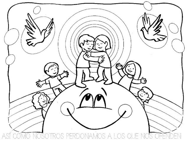 Pin de paula en Catequesis Padre Nuestro | Pinterest | Padre nuestro ...