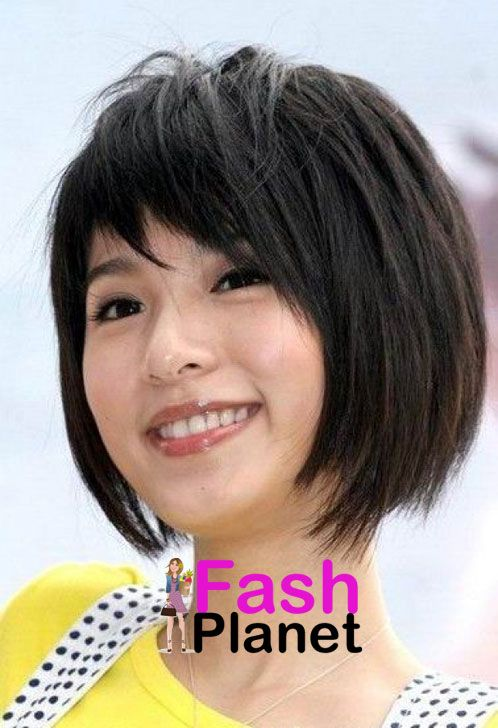 Korean Short Hair Style For Round Face Short Hair Styles For Round Faces Asian Short Hair Cute Hairstyles For Short Hair