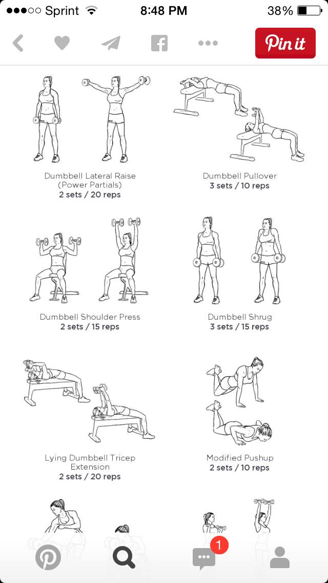 Pin By C G On Fitness Beginner Upper Body Workout Upper Body Workout Gym Upper Body Workout