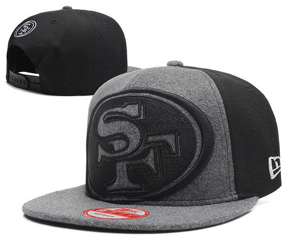 Cheap San Francisco 49ers Snapback Hats Plush Shell Fabric Grey ... aaca3b3a5