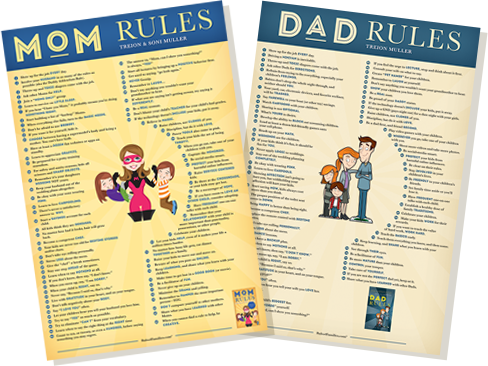 Get your Mom Rules & Dad Rules FREE posters | For Dads ...