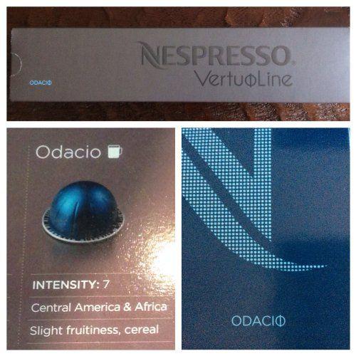 10 Capsules Nespresso Vertuoline Odacio Coffee Commute Coffee