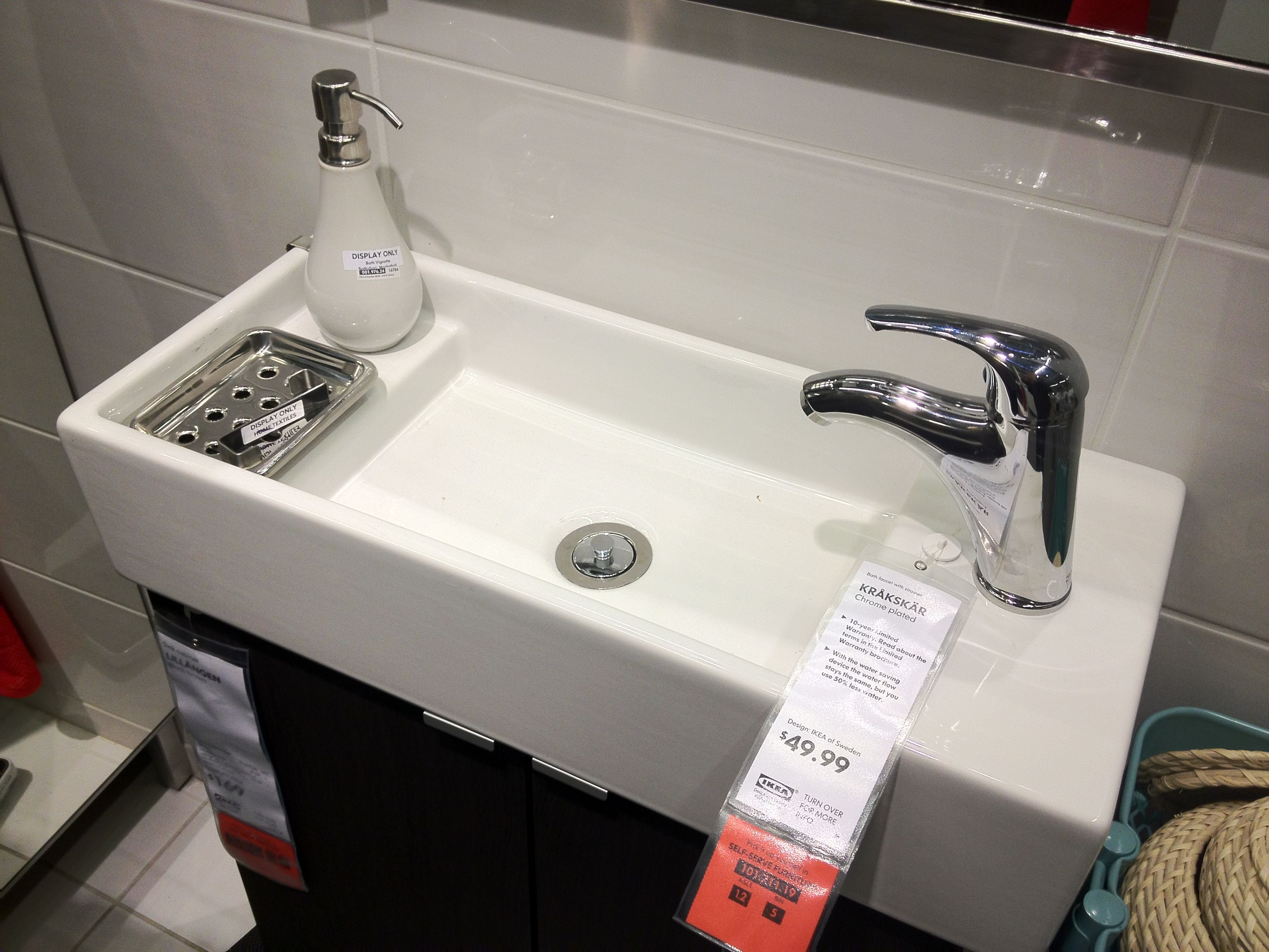 Ikea bathroom planner uk - Small Bathroom Sinks