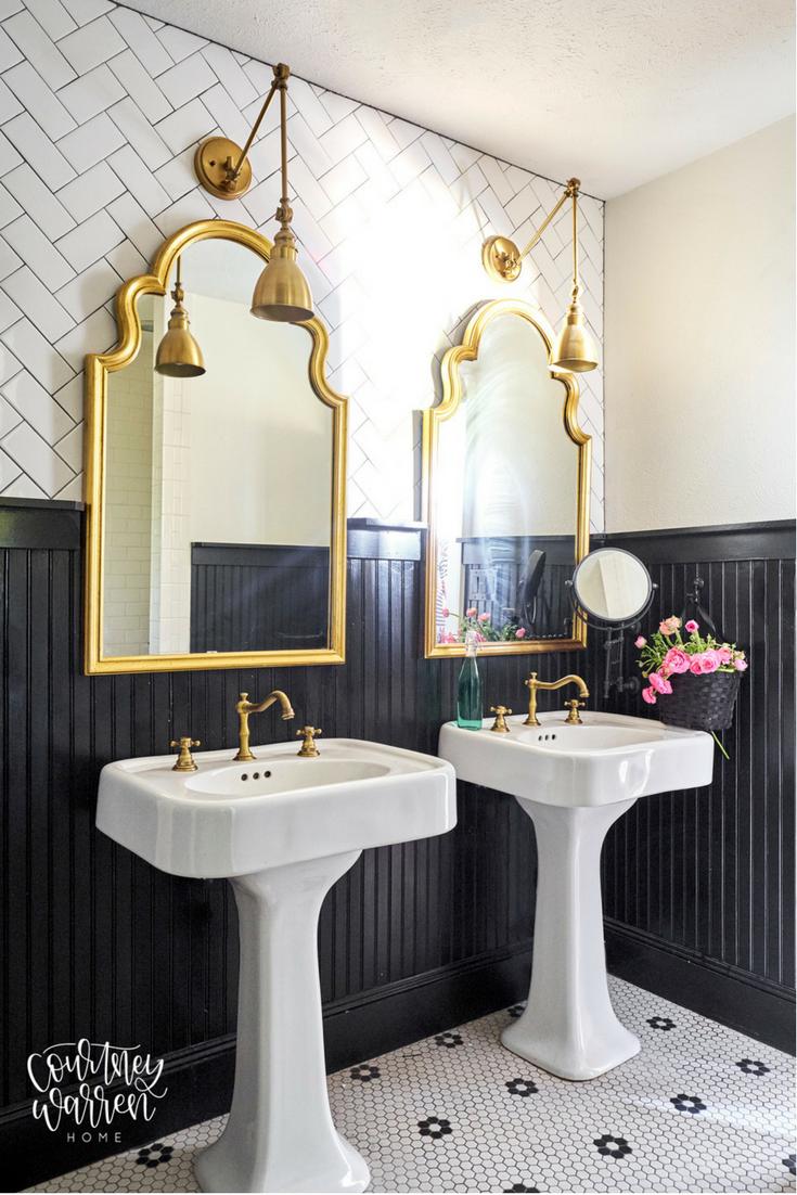 My House Pedestal Sinks Sink Elegant Bathroom