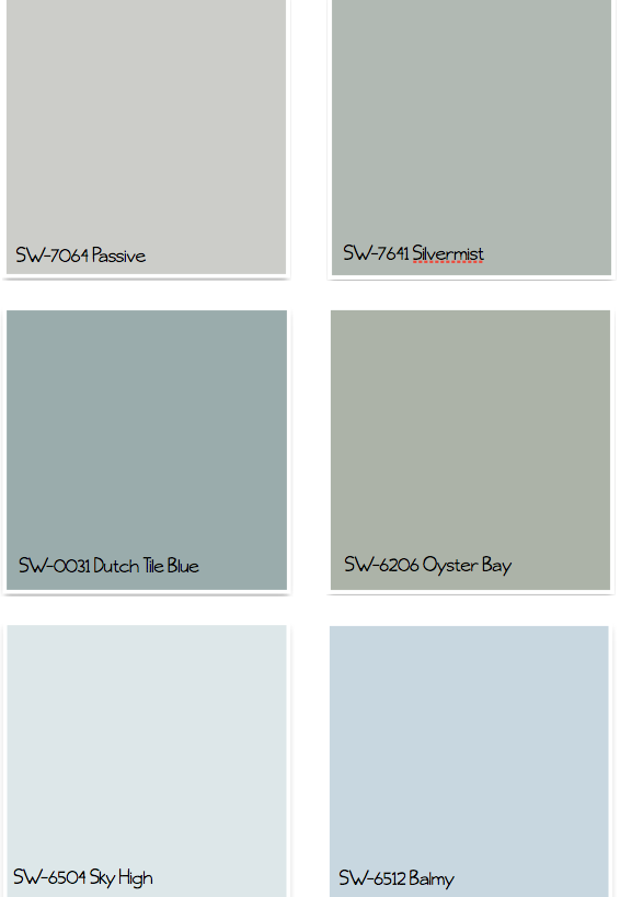 Sherwin Williams Paint Colors Dutch Tile Blue Or Silver Mister For T With Images Sherwin Williams Paint Colors Paint Colors For Home Interior Paint Colors For
