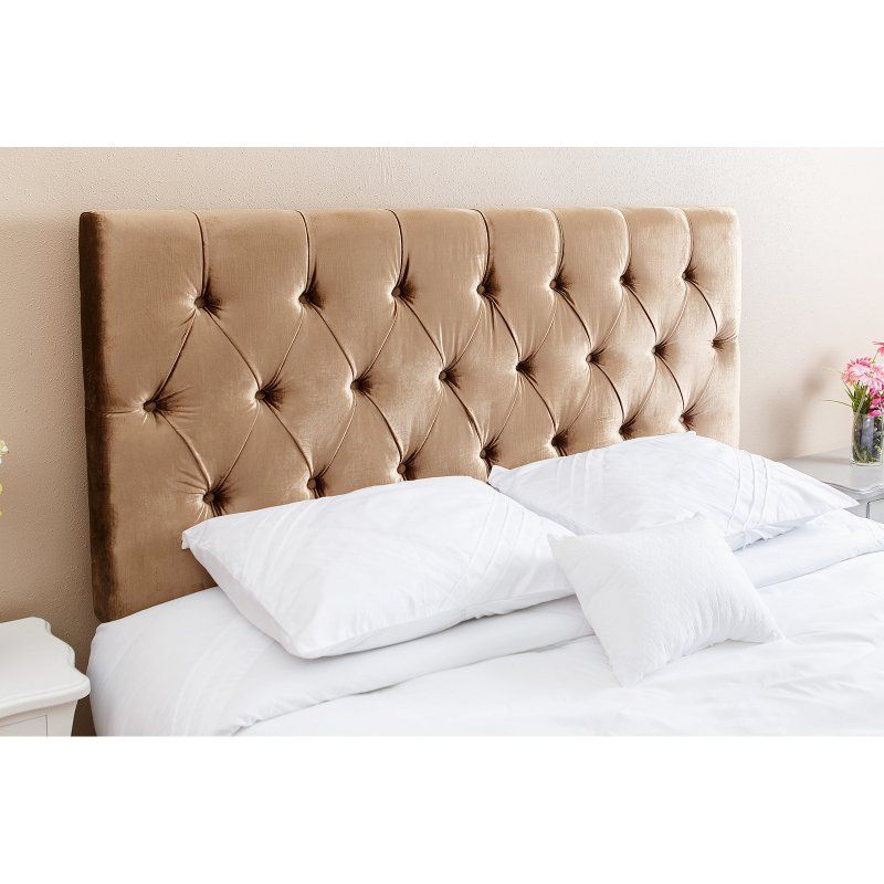 Abbyson Connie Viscose Upholstered Headboard Full Queen Full
