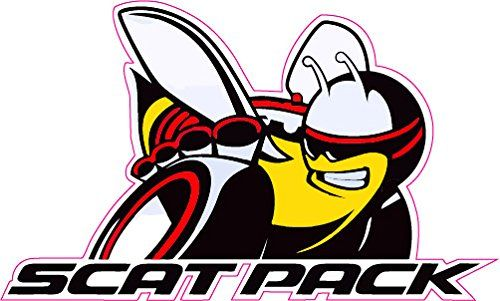 scat pack version 4 decal nostalgia decals   cars   pinterest