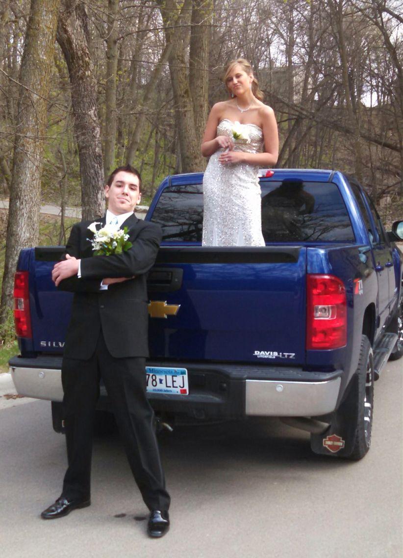 Prom in a truck