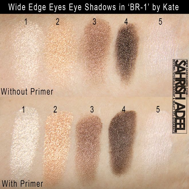 Kate Wide Edge Eyes Eye Shadow Palette in 'BR-1' - Review