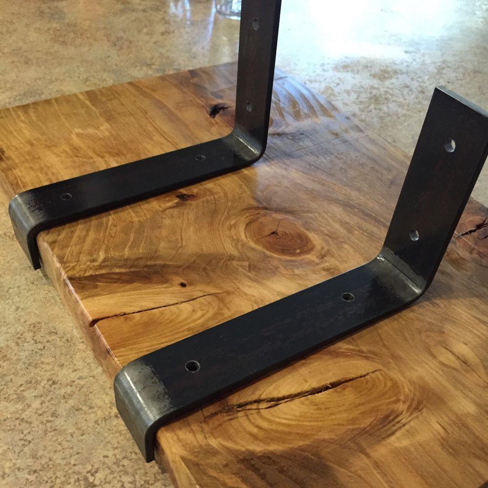 Decorative Wooden Shelf Brackets Details About Shelf Brackets Lip Metal Shelve Mounting Bracket