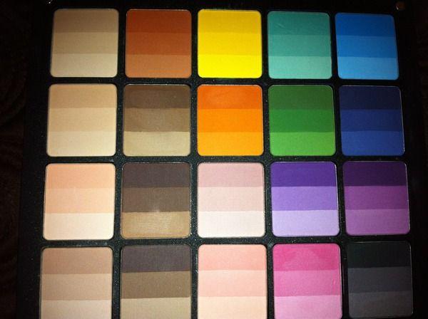 Inglot Cosmetics Rainbow Eye Shadow | Beautylish