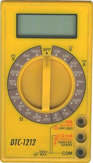 Contrôleur de courant universel - Utilisation d\u0027un multimètre - Photo Tableau Electrique Maison