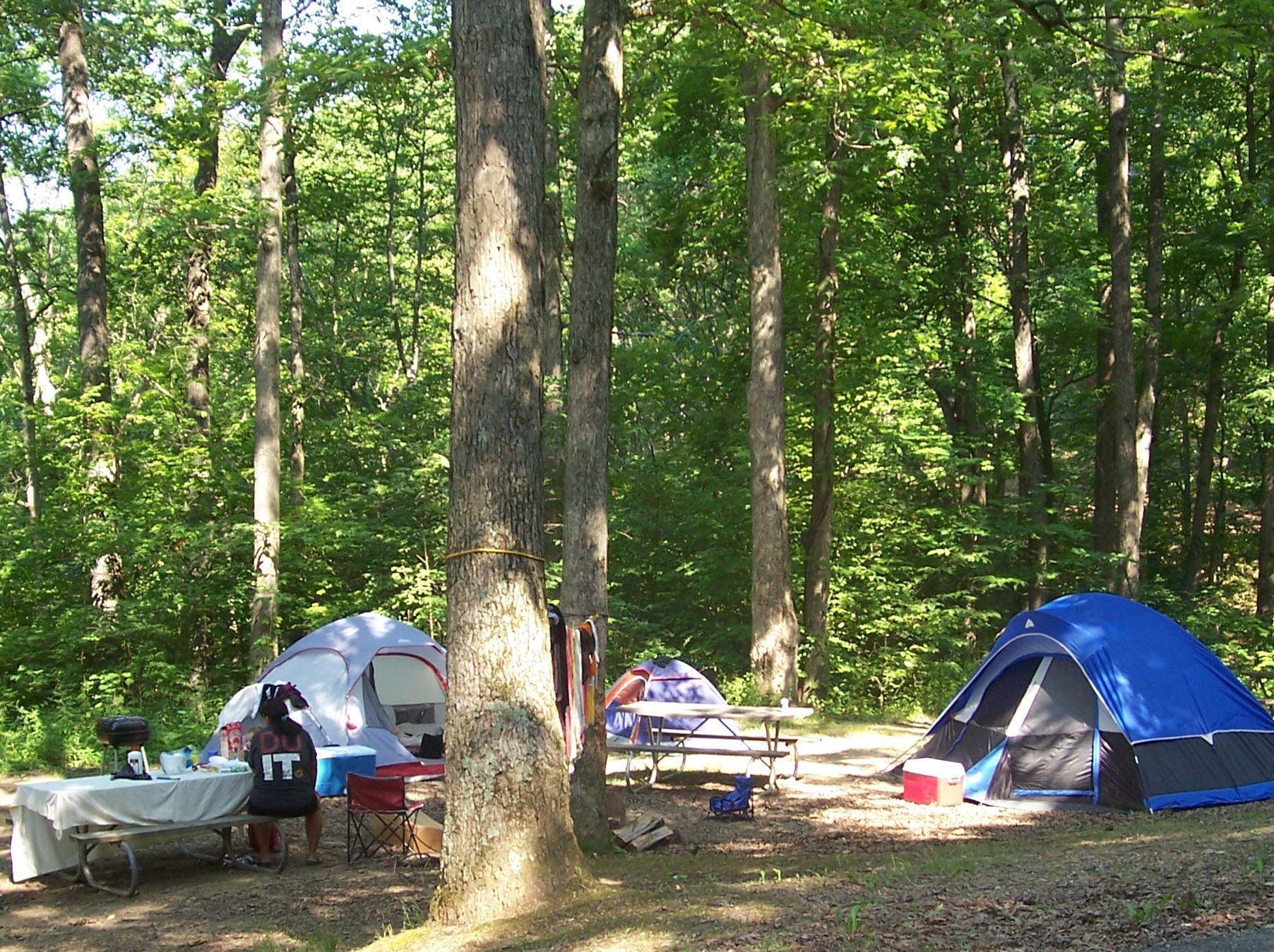 Wisconsin Devils Lake State Park Camping Visit