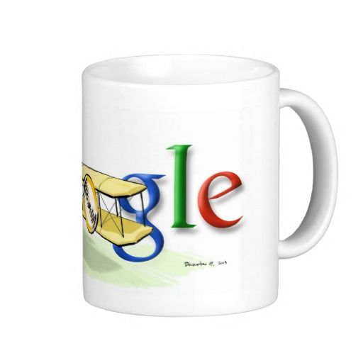Where can I find Google Mugs? 100th Anniversary of Flight, 15oz Mug #google #mug #fight #anniversary #zazzle