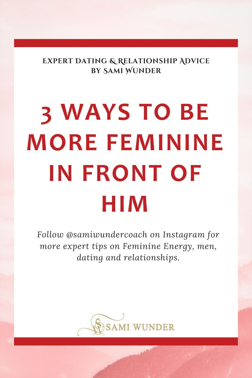 3 ways to switch from masculine to feminine energy video