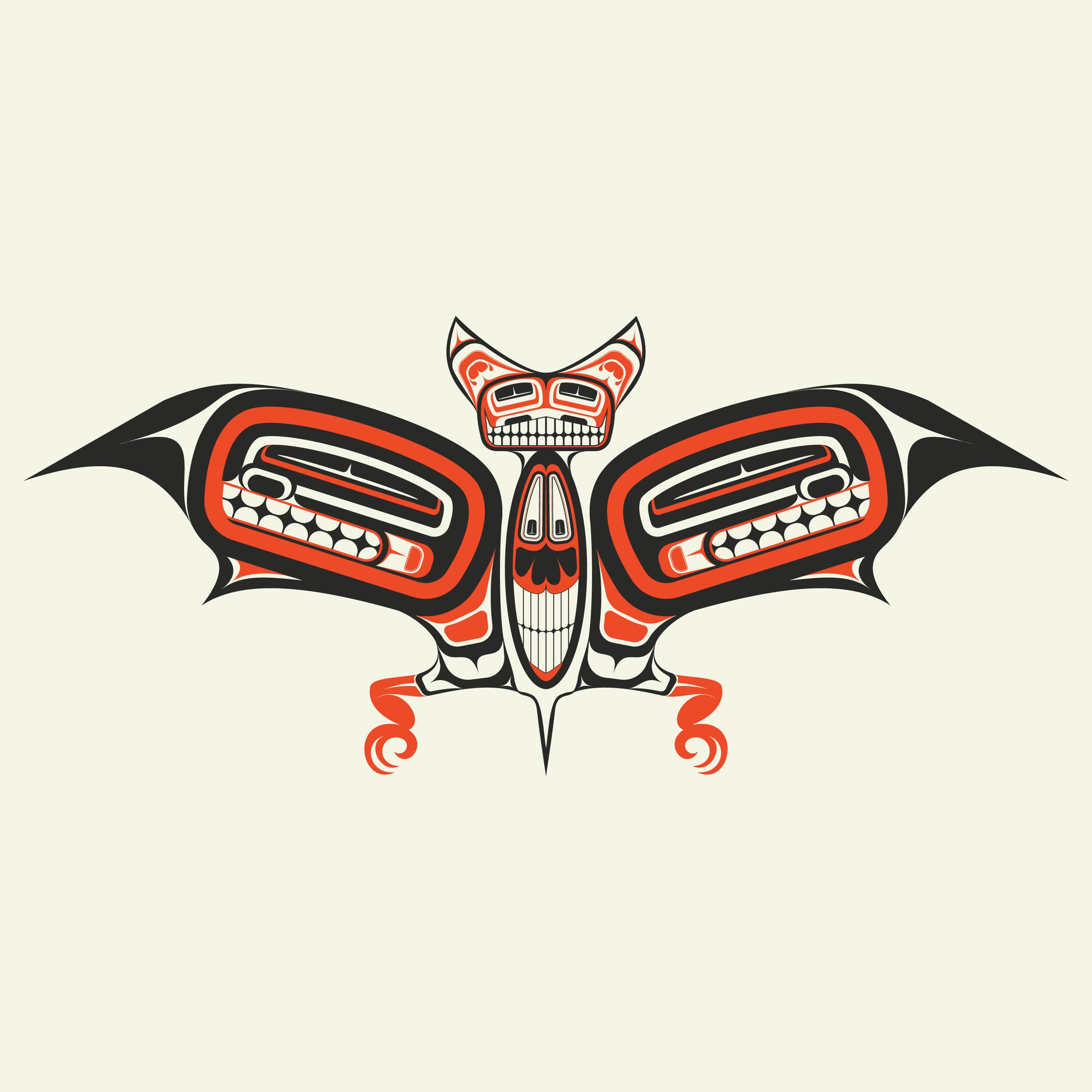 1986 Northwest Native Flicker Print Glen Rabena Signed