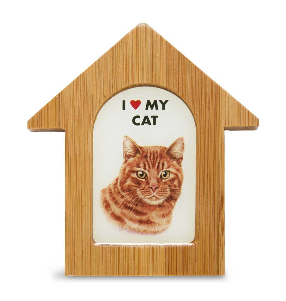 Orange Cat House Magnet One thing we love is a product line that has multiple…