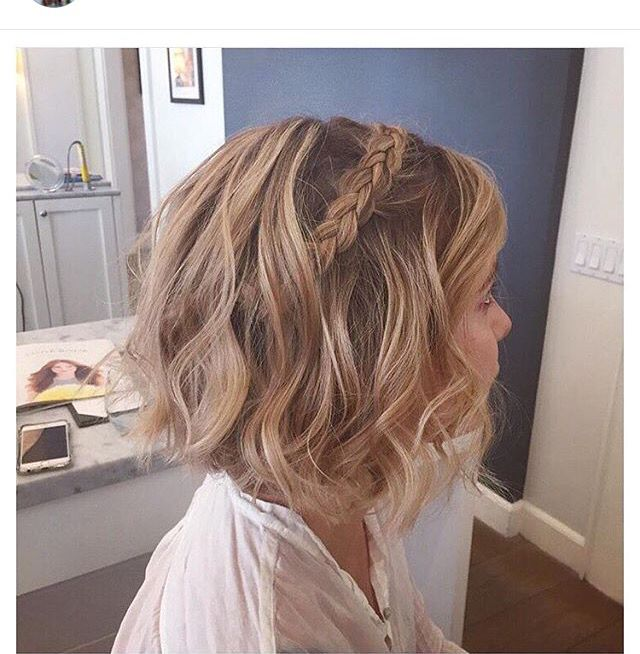 Wedding Hairstyles For Short Bobs: Pin By Lyss Laurens On Short Hairstyles