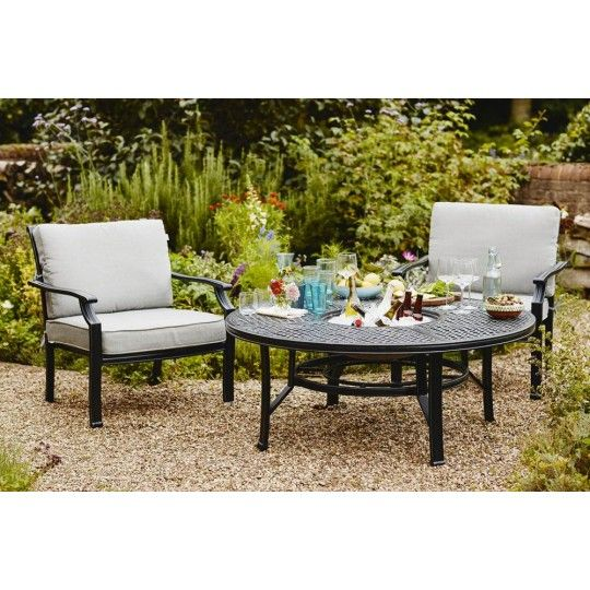 Hartman Jamie Oliver Fire Pit Garden Furniture Set