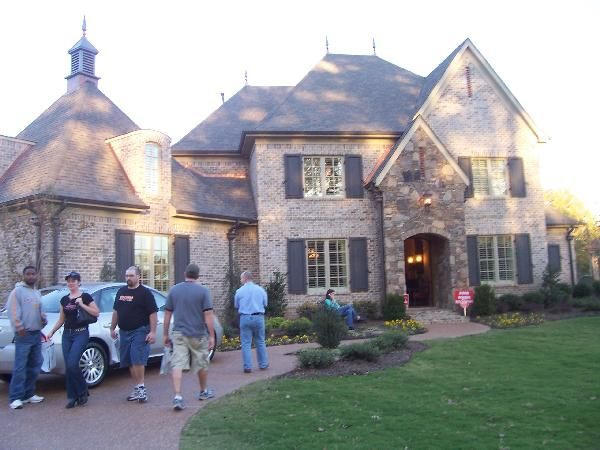 Country Home Exterior brick and stone homes | home exteriors - french country, brick