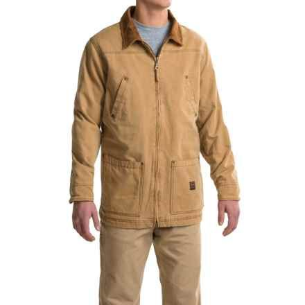 Walls Vintage Duck Barn Coat For Men In Pc9 Pecan 2nds Barn