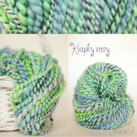 KVAPKY ROSY - prepletené do modra