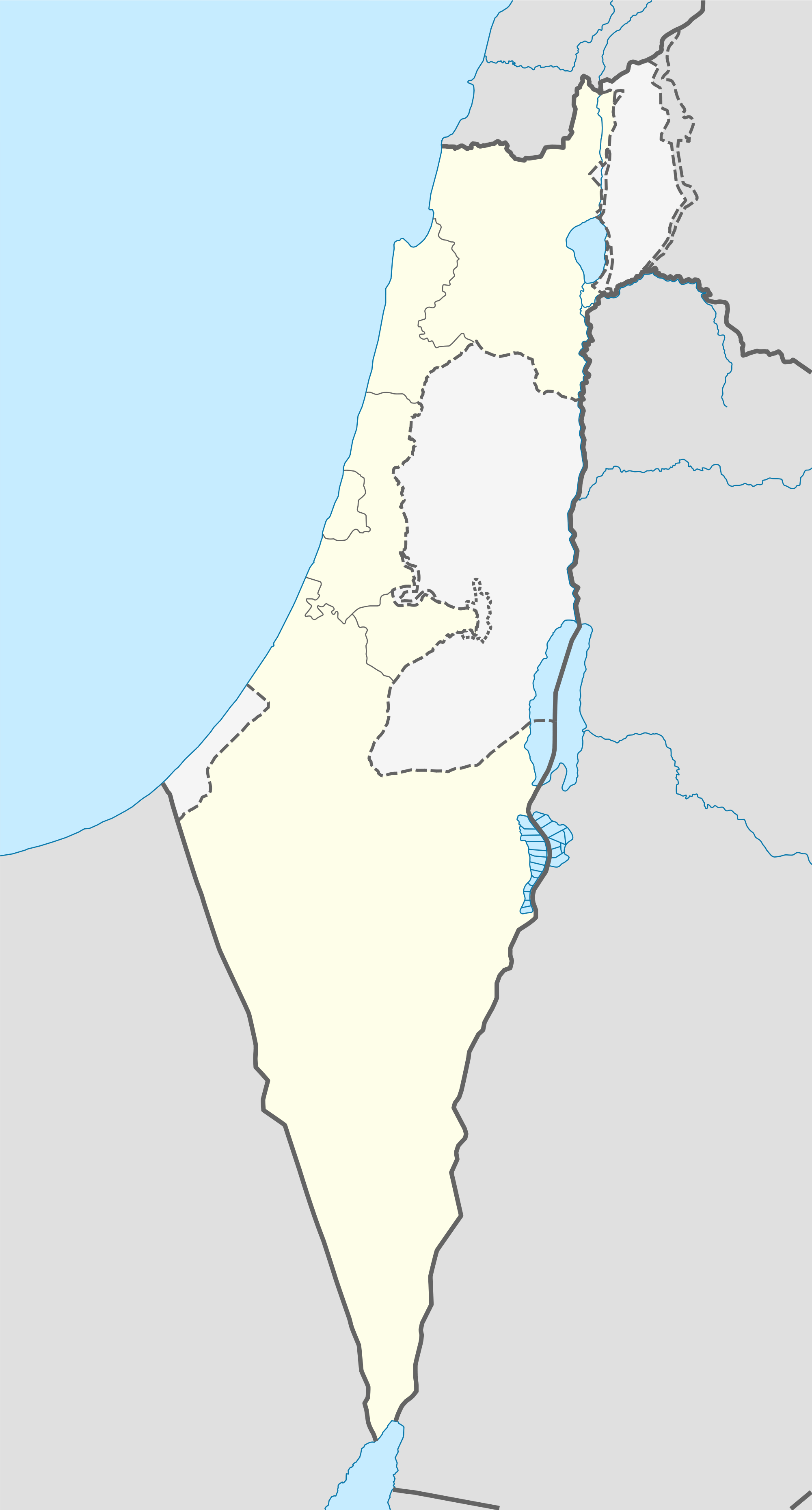 Map for Hebrew Empire #geography #wk3 | Gaza strip, Location ...